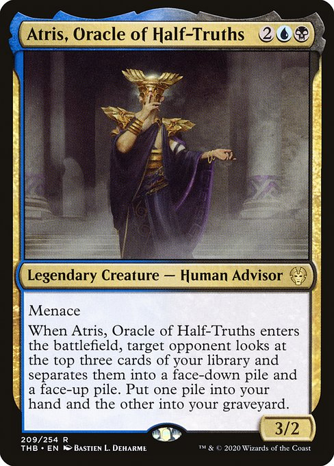 Atris, Oracle of Half-Truths (THB)