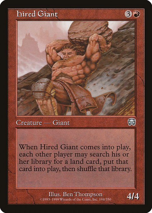 Hired Giant (MMQ)