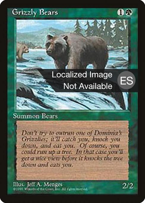 Grizzly Bears (4BB)