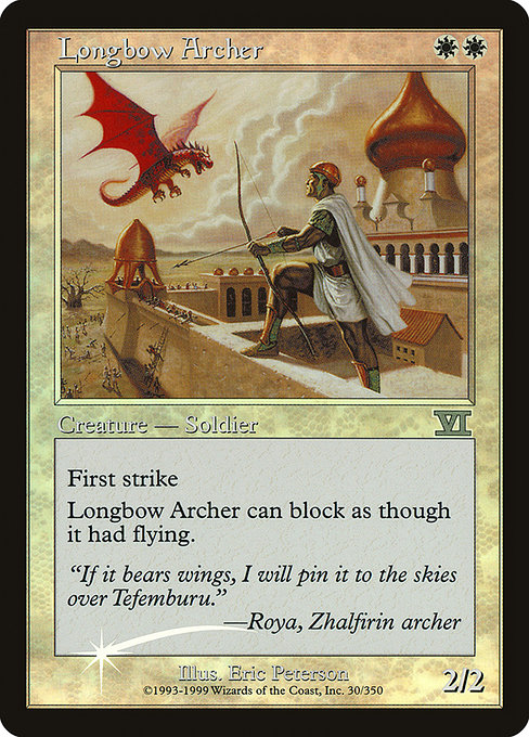 Longbow Archer (FNM)