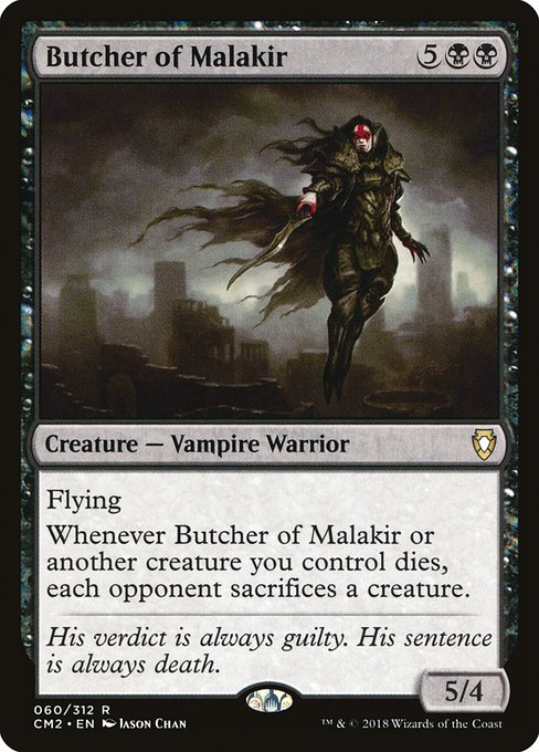Butcher of Malakir (CM2)