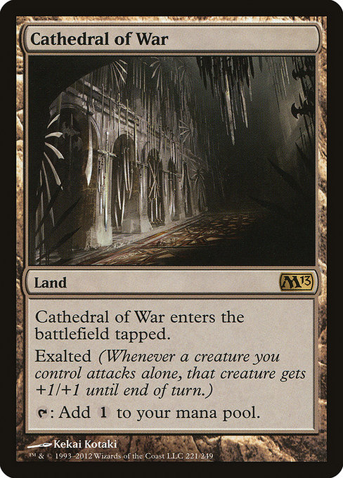 Cathedral of War (M13)