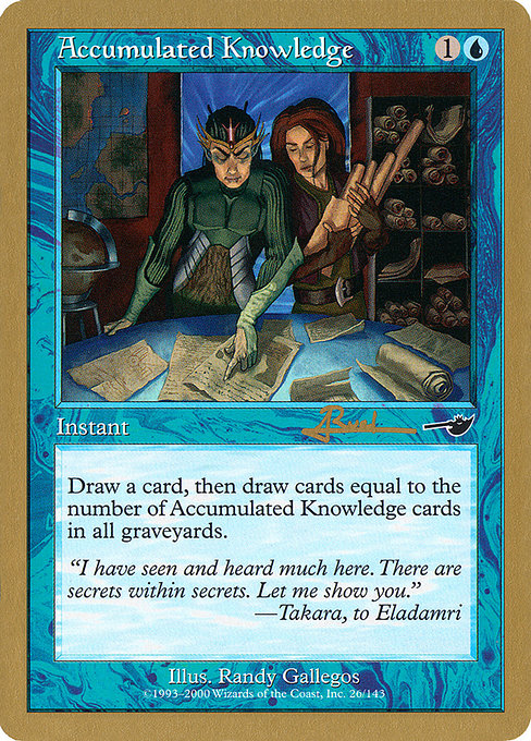 Accumulated Knowledge (WC01)