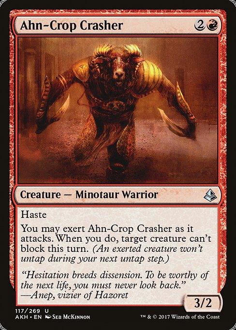 Ahn-Crop Crasher (AKH)