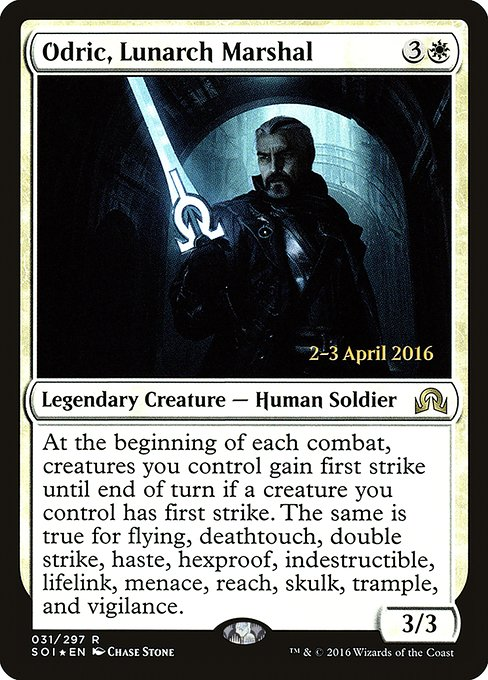 Odric, Lunarch Marshal (PSOI)