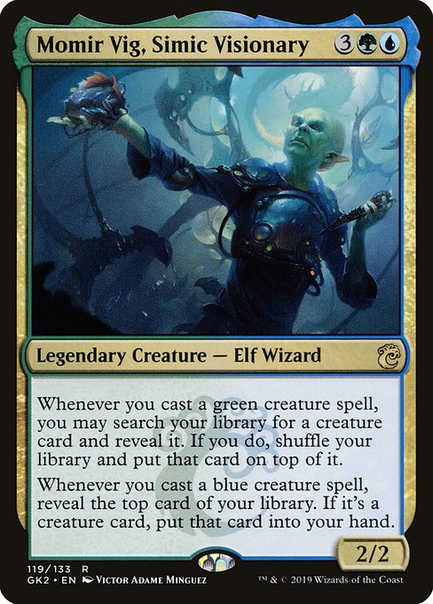 Momir Vig, Simic Visionary (GK2)