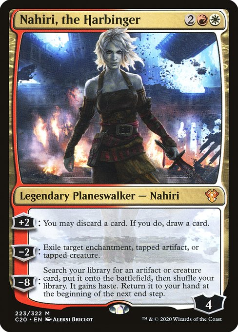 Nahiri, the Harbinger (C20)