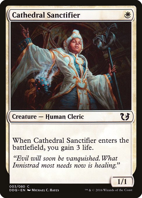 Cathedral Sanctifier (DDQ)