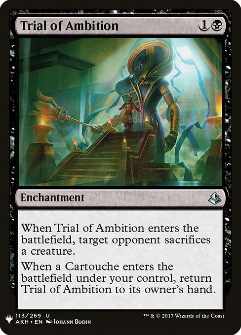 Trial of Ambition (MB1)