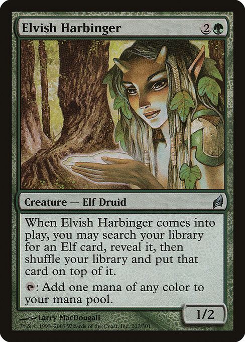 Elvish Harbinger (LRW)