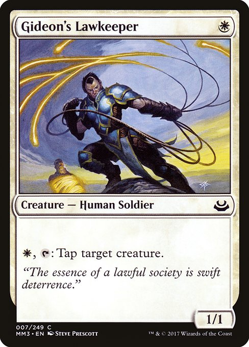 Gideon's Lawkeeper (MM3)