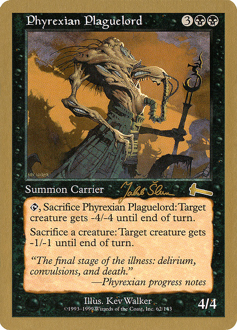 Phyrexian Plaguelord (WC99)