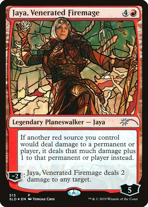 Jaya, Venerated Firemage (SLD)