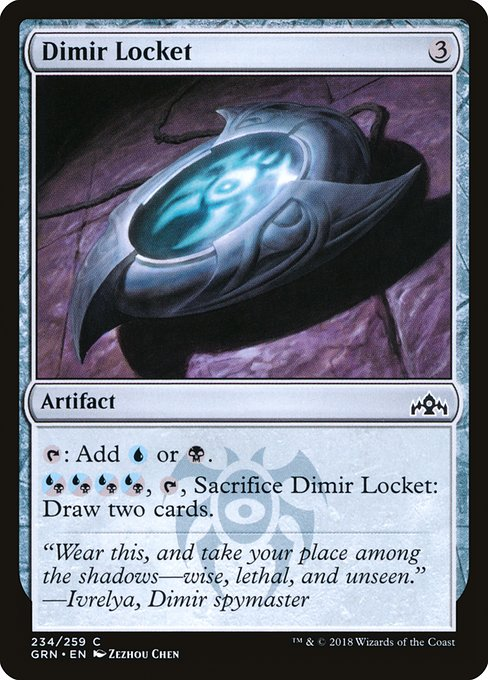 Dimir Locket (GRN)