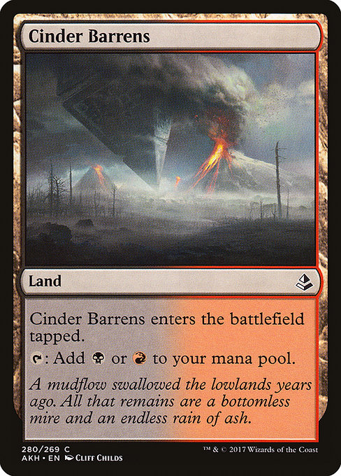 Cinder Barrens (AKH)