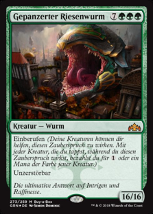 Impervious Greatwurm (GRN)