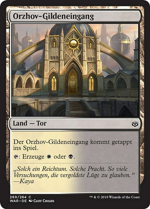 Orzhov Guildgate (WAR)