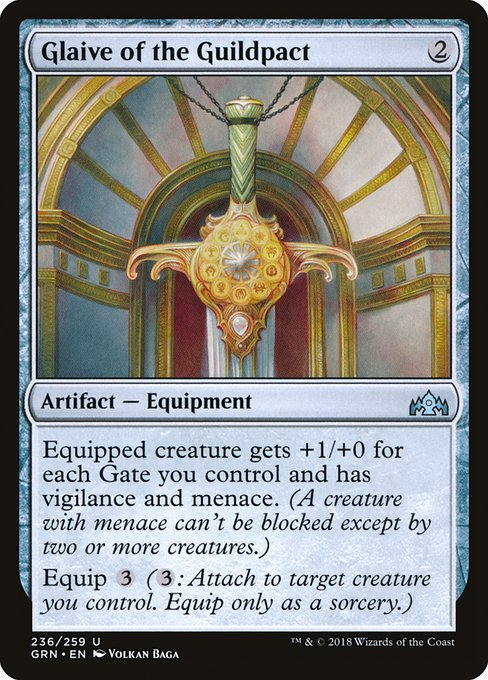 Glaive of the Guildpact (GRN)
