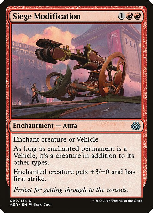 Siege Modification (AER)