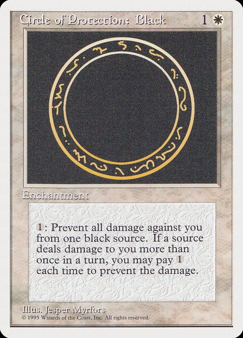 Circle of Protection: Black (RQS)