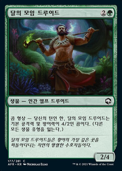 Circle of the Moon Druid (AFR)