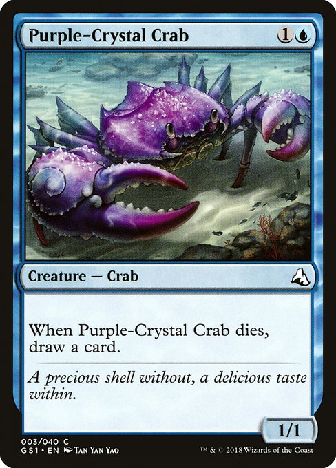 Purple-Crystal Crab (GS1)