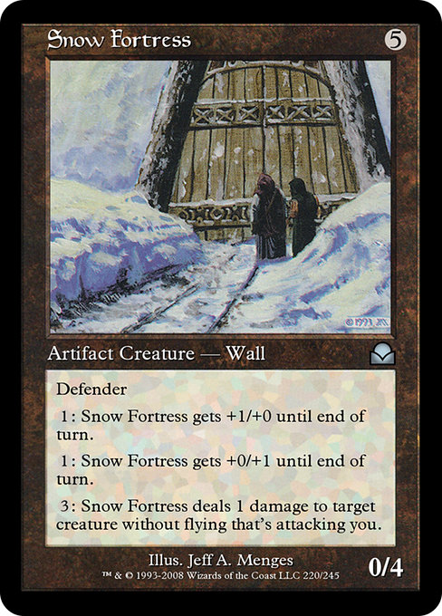Snow Fortress (ME2)