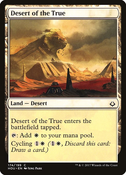 Desert of the True (HOU)