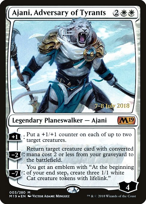 Ajani, Adversary of Tyrants (PM19)