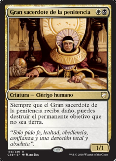 High Priest of Penance (C18)