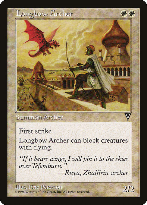 Longbow Archer (VIS)