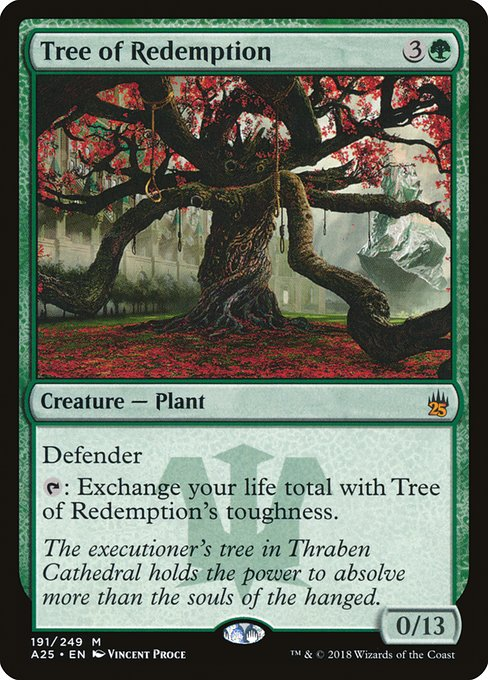 Tree of Redemption (A25)