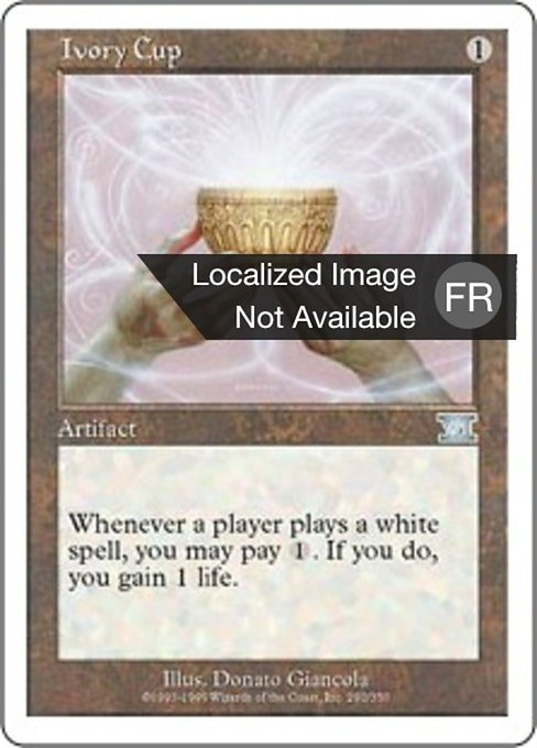 Ivory Cup (6ED)