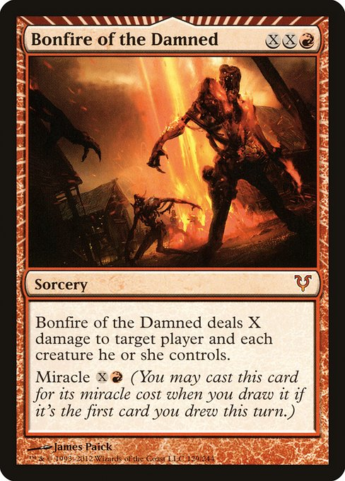 Bonfire of the Damned (AVR)