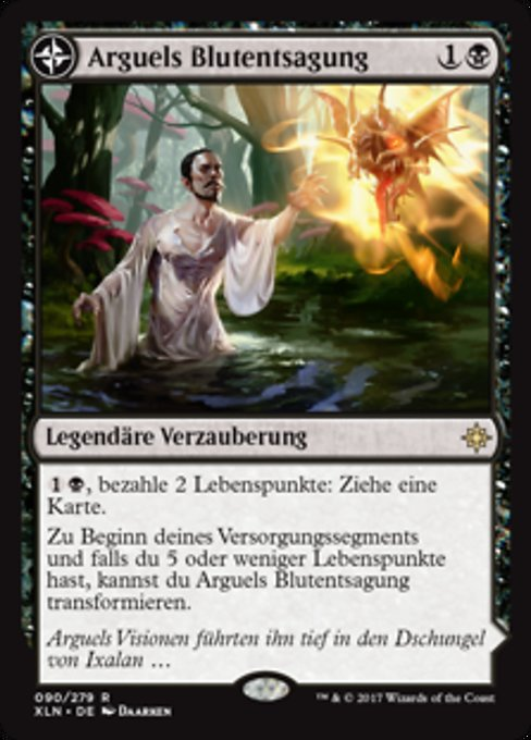 Arguel's Blood Fast // Temple of Aclazotz (XLN)