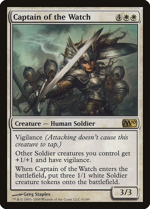 Captain of the Watch (M10)