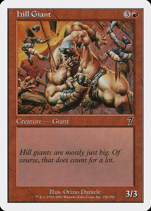 Hill Giant (7ED)