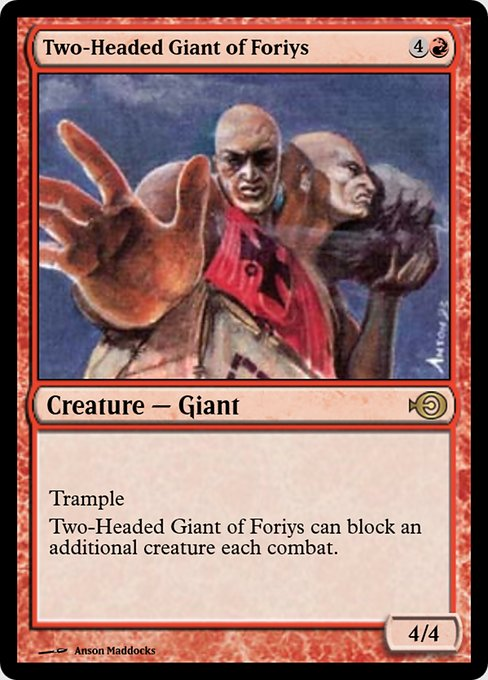 Two-Headed Giant of Foriys (PRM)