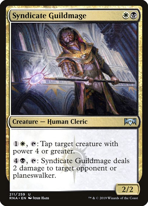 Syndicate Guildmage (RNA)