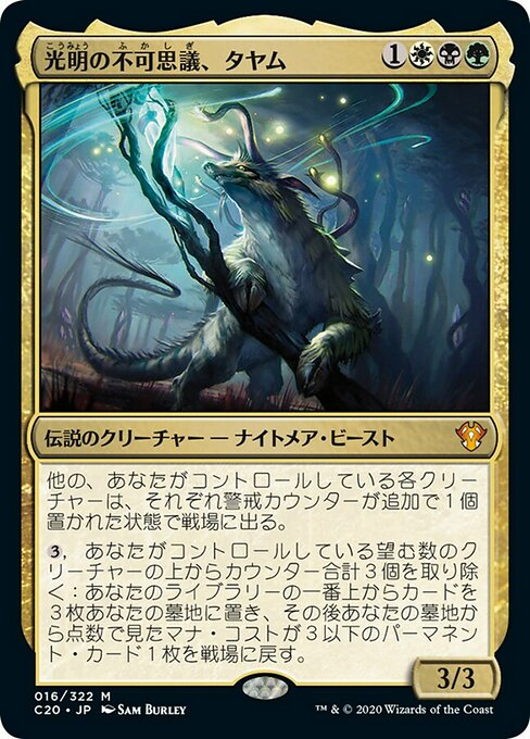 Tayam, Luminous Enigma (C20)