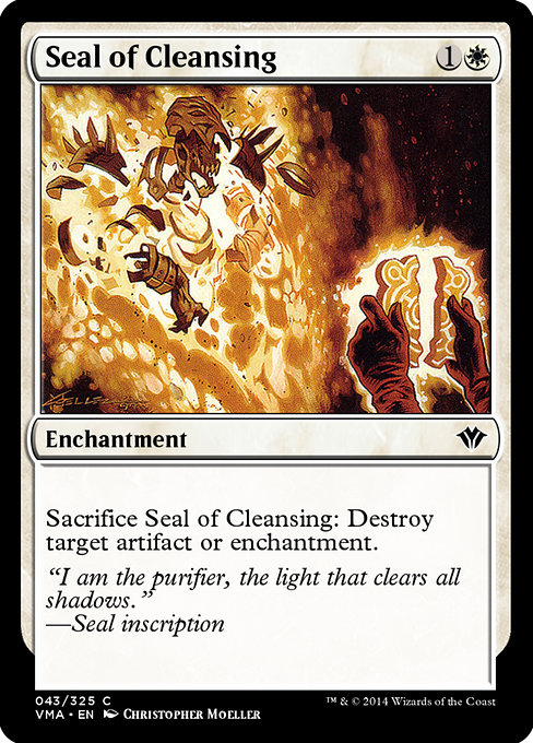 Seal of Cleansing (VMA)