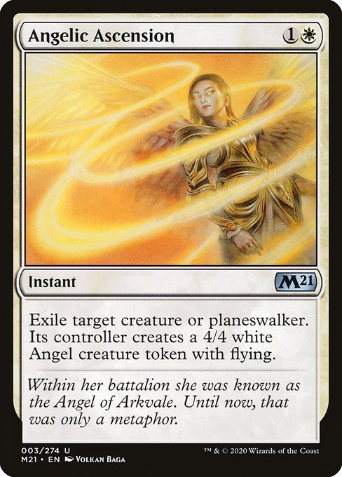 Angelic Ascension - Buy MTG Cards
