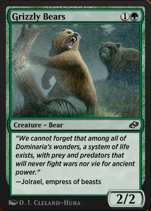 Grizzly Bears (J21)