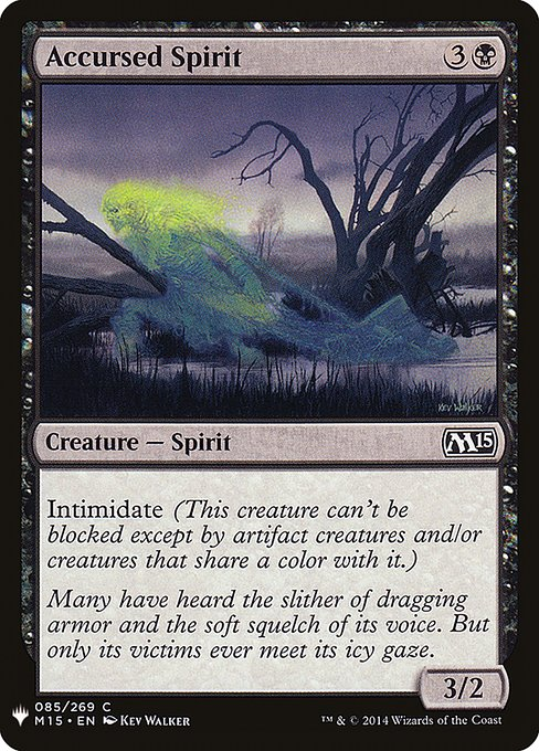 Accursed Spirit (MB1)