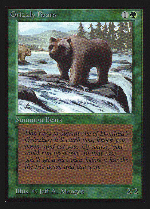Grizzly Bears (CEI)
