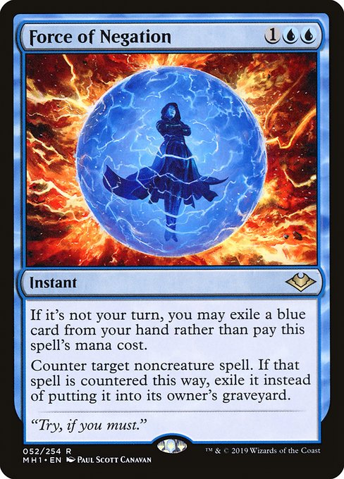 Force of Negation (MH1)