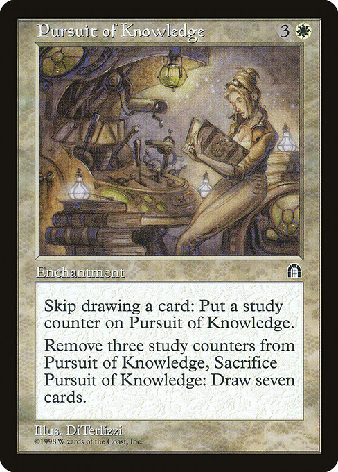 Pursuit of Knowledge (STH)