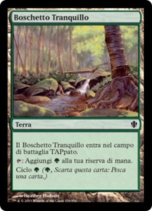 Tranquil Thicket (C13)