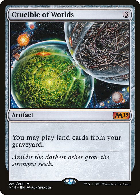 Crucible of Worlds (M19)
