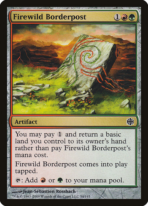 Firewild Borderpost (ARB)